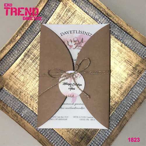 Eko Trend Davetiye 1823