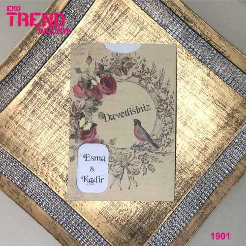 Eko Trend Davetiye 1901