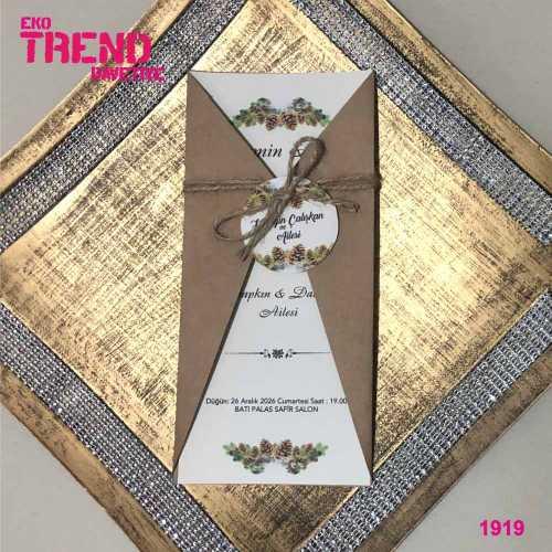 Eko Trend Davetiye 1919