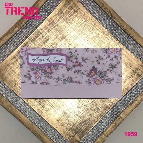 Eko Trend Davetiye 1959